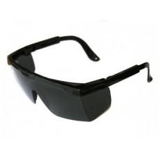 Очки защитные Эксперт дымчатые с регулируемой длиной дужки