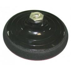 Тарелка опорная Ф125 мм, М14, для УШМ, липучая основа, мягкая