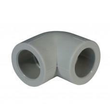 Уголок PPR 32 мм уг. 90° серый
