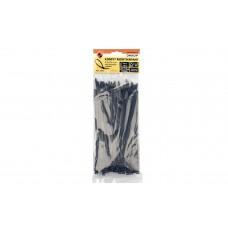 Хомут монтажный 4,8х200 черный (100шт)