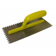 Гладилка 130х280 мм, зуб 6х6 мм