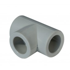 Тройник PPR 32 мм серый
