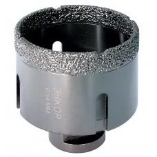 Коронка алмазная по керамограниту D 64 мм для УШМ сух. рез