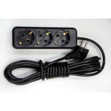 Удлинитель электрический бытовой 1,5м 3роз ЭНКОР (1/35)