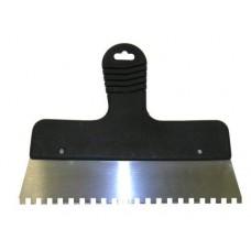 Шпатель 250 мм, зуб 6х6 мм