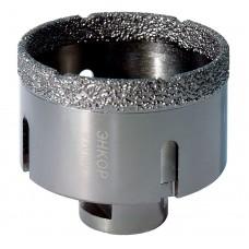 Коронка алмазная по керамограниту D 70 мм для УШМ сух. рез