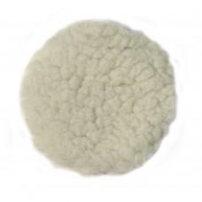 Круг полировальный Ф125 мм, на липучей основе, шерсть