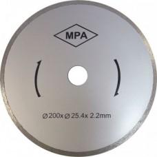 Круг алм ф200x25,4х2,2мм К 464, К 460-680